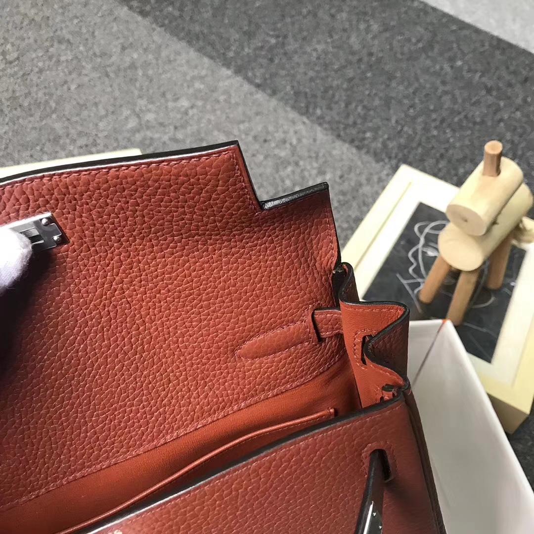 Hermès(爱马仕)Kelly ado PM 古铜色 现货