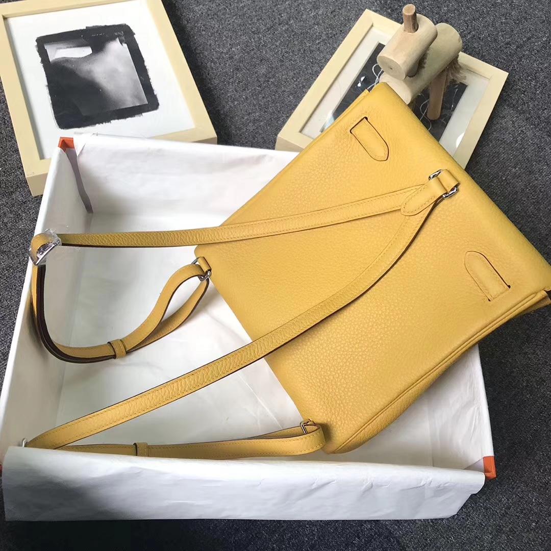 Hermès(爱马仕)Kelly ado PM 琥珀黄 现货