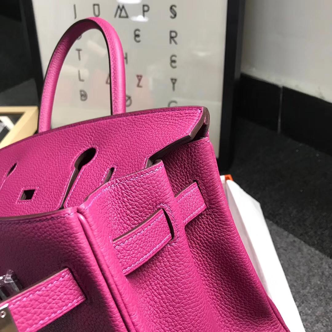 Hermès(爱马仕)K5 托斯卡 原厂御用顶级小牛皮 Birkin 30 银扣