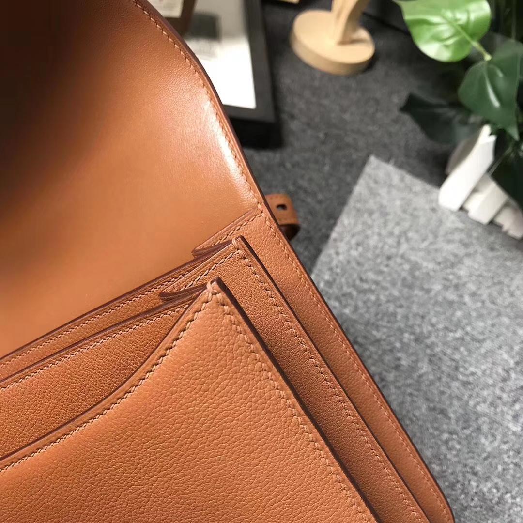 Hermès(爱马仕)C37 金棕色 原厂御用顶级Ever Color皮 2002-20 现货