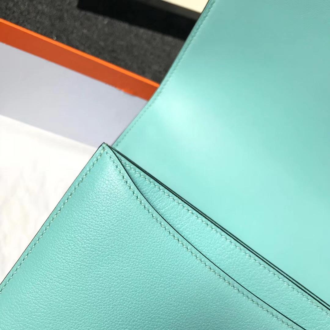 Hermès(爱马仕)3P马卡龙蓝 原厂御用顶级Ever Color 皮 2002-20 现货