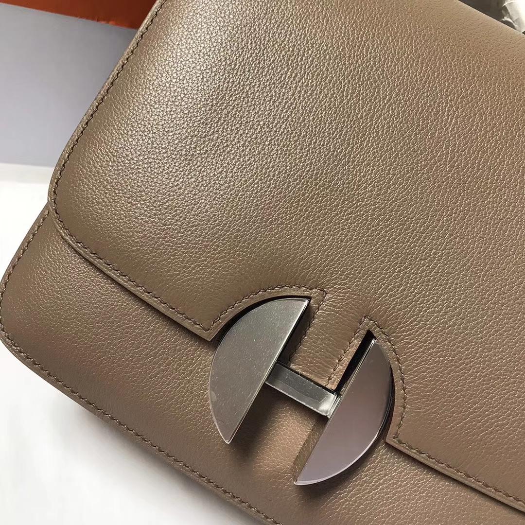 Hermès(爱马仕)CK18 大象灰 原厂御用顶级Ever Color皮 2002-20 现货