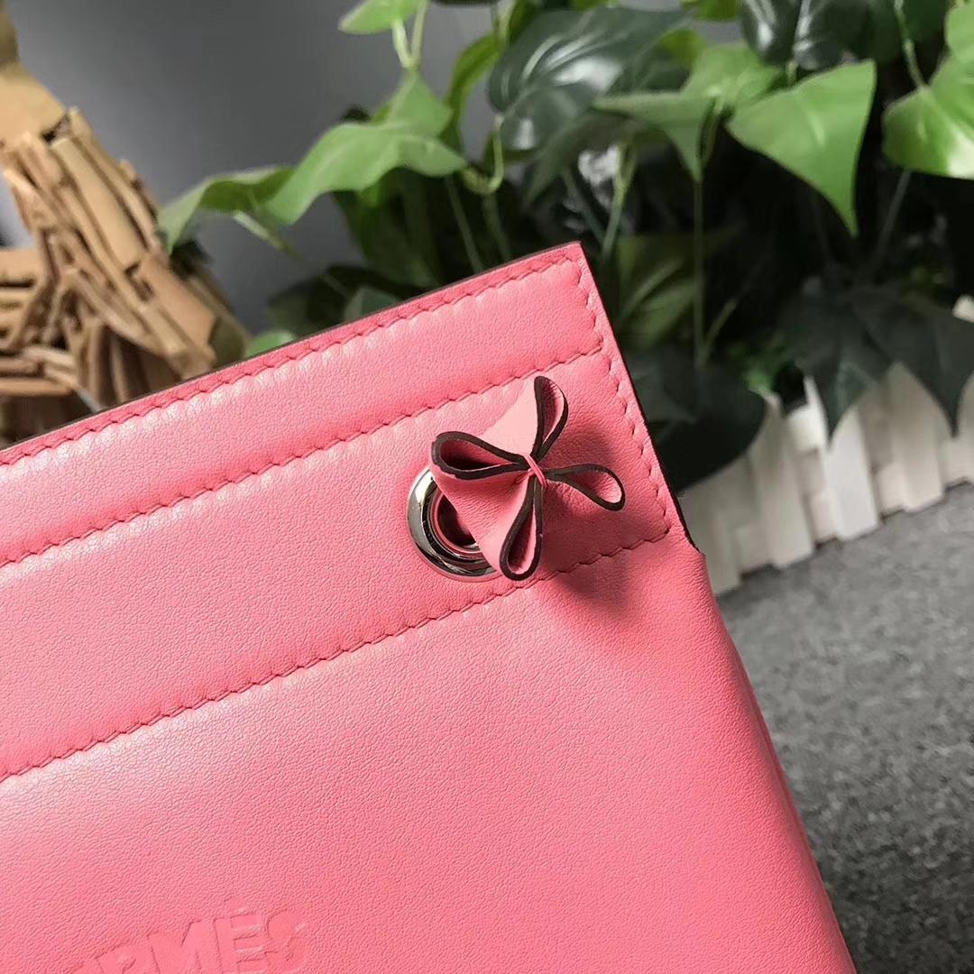 Hermès(爱马仕)Aline 艾琳包 新唇膏粉 原厂御用顶级Swift 皮 21cm