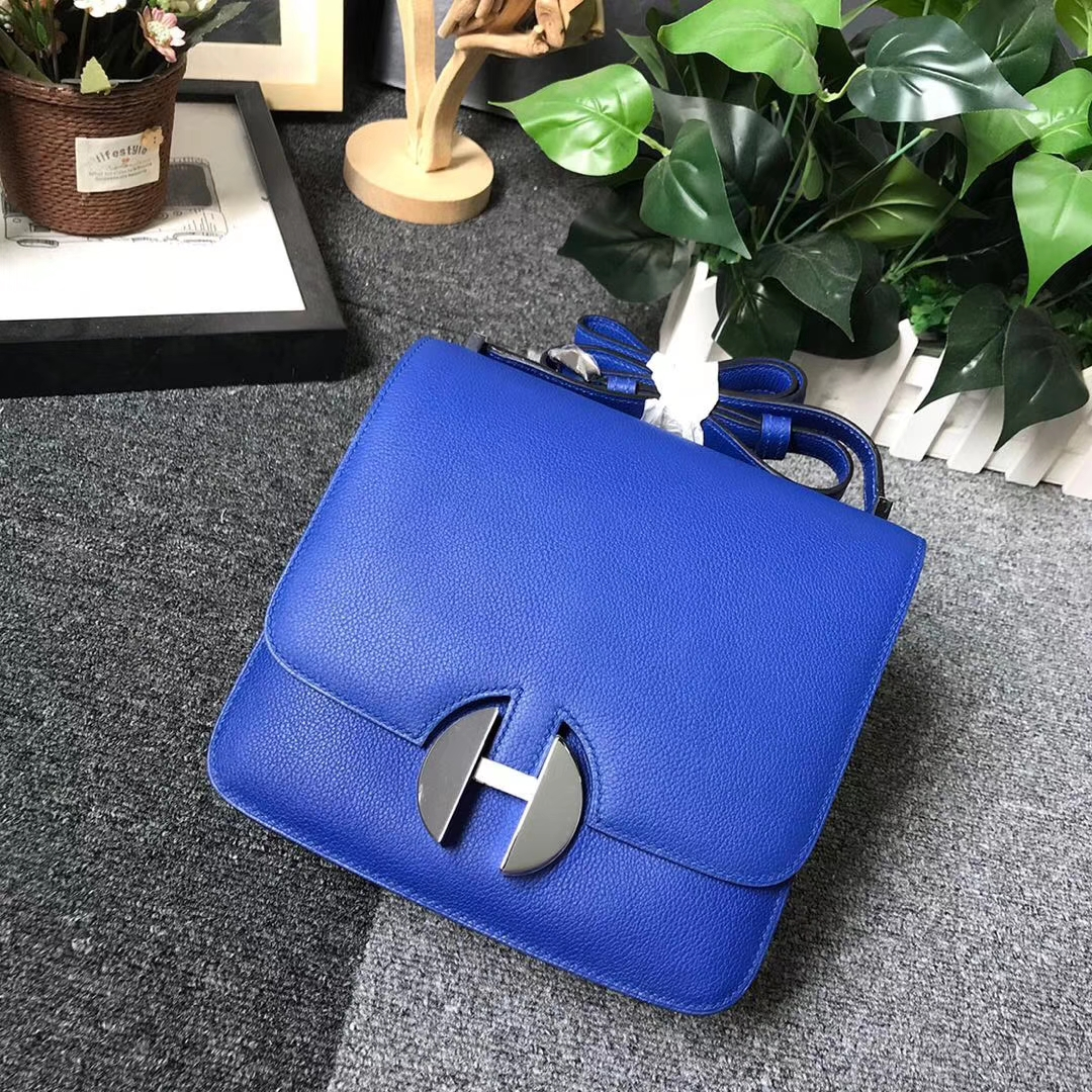Hermès(爱马仕)琉璃蓝 原厂御用顶级Ever Color 皮 2002-20 现货
