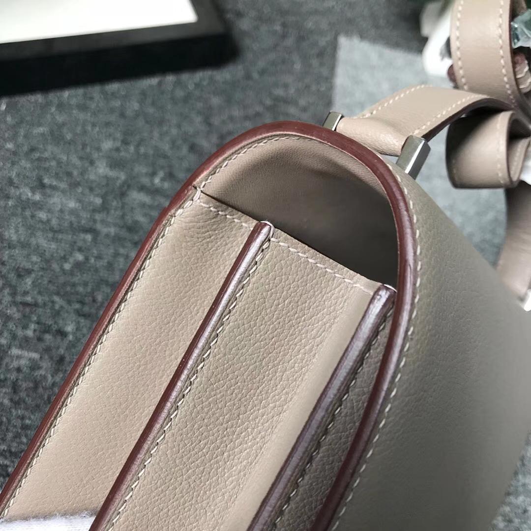 Hermès(爱马仕)M8 沥青灰 原厂御用顶级Ever Color 皮 2002-20 现货