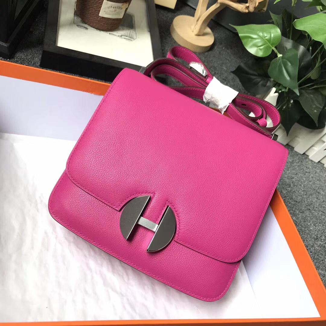 Hermès(爱马仕)L3 玫瑰紫色 原厂御用顶级Ever Color 皮 2002-20 现货