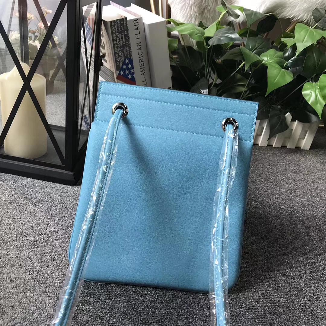 Hermès(爱马仕) Aline艾琳包 北方蓝 原厂御用顶级Swift 皮 双肩背包