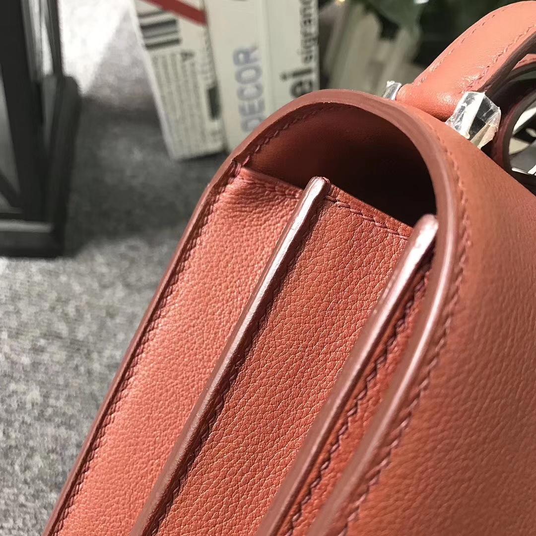 Hermès(爱马仕)6C 古铜色 原厂御用顶级Ever Color 皮 2002-20 现货