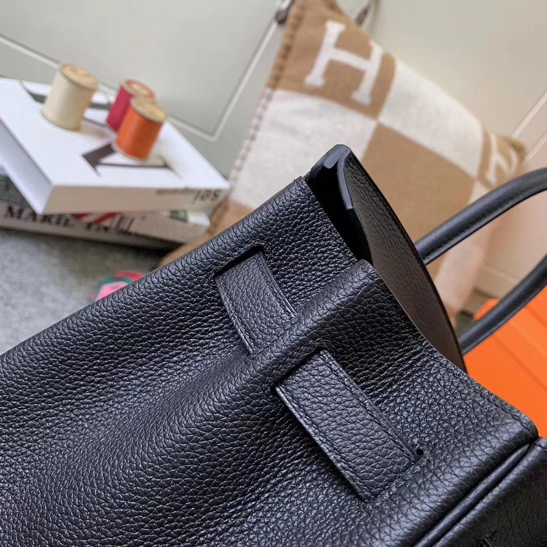 Hermès(爱马仕)CK89 黑色 原厂御用顶级小牛皮 Birkin 30 金扣 现货