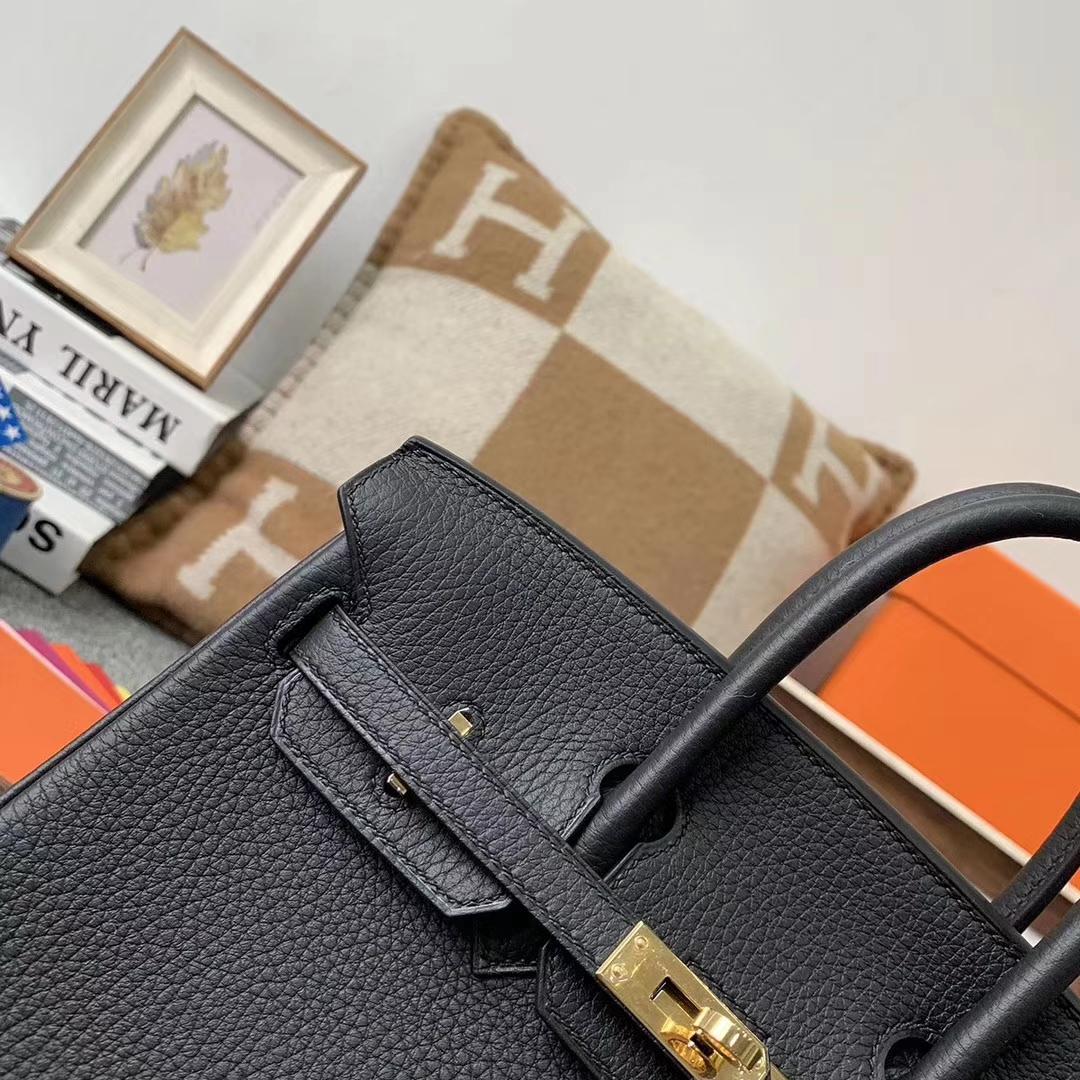 Hermès(爱马仕)CK89 黑色 原厂御用顶级小牛皮 Birkin 25