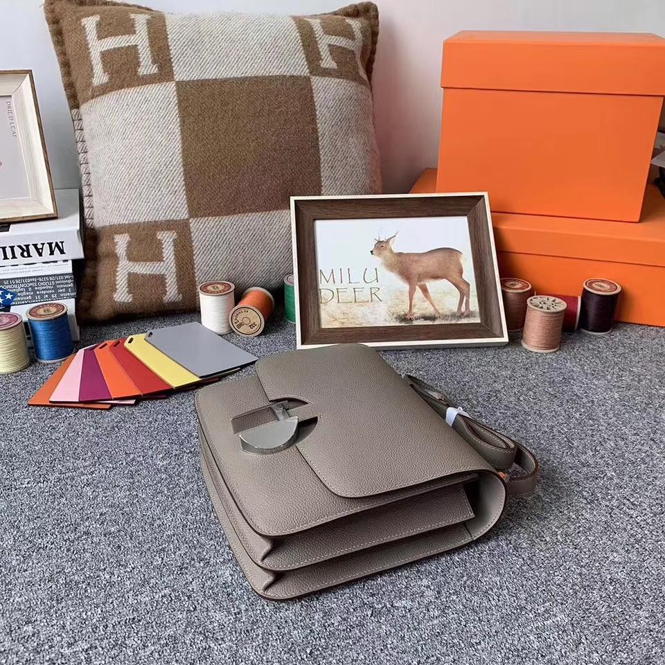 Hermès(爱马仕)M8 沥青灰 原厂御用顶级Ever color 皮 2002-20