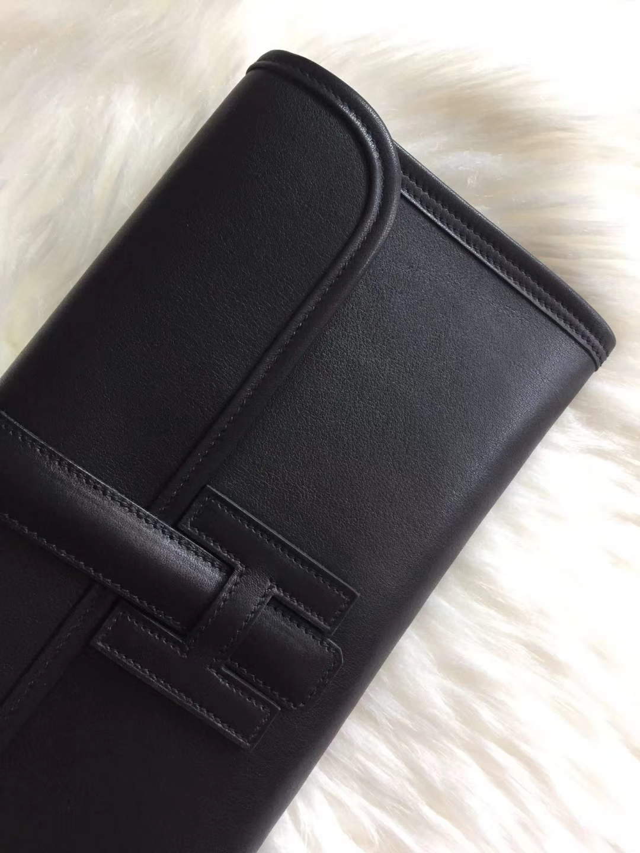 Hermès(爱马仕)29jige手包 原装等级进口 swift皮 黑色 现货