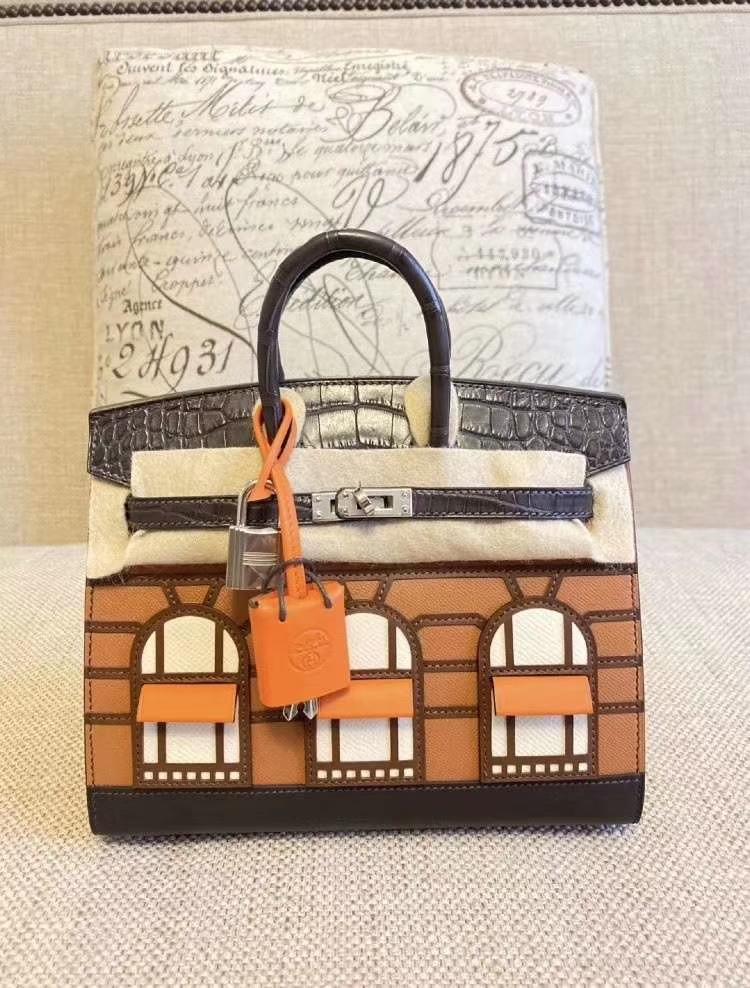 Hermès(爱马仕)专柜最新 限量版 房子铂金包 Birkin 20 Sellier Faubourg