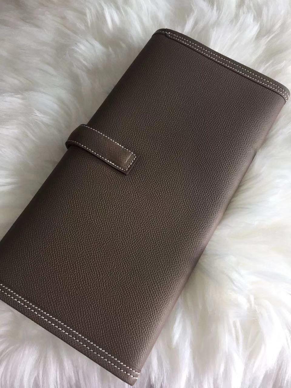 Hermès(爱马仕)29jige 手包 原装等级进口epsom皮 大象灰 订单出货 现货