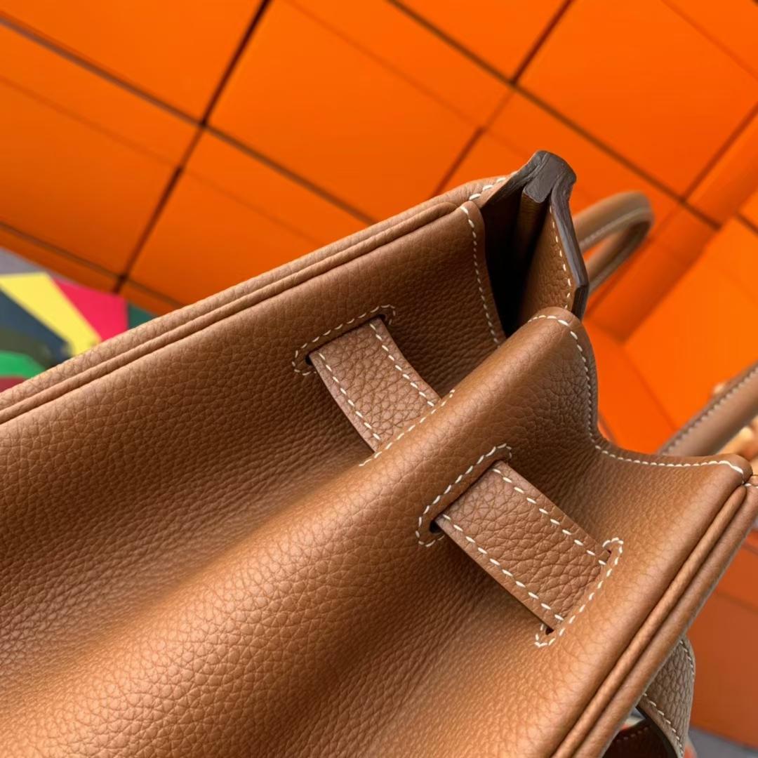 Hermès(爱马仕)Birkin 铂金包 C37 金棕色 原厂御用顶级小牛皮 金扣 40cm